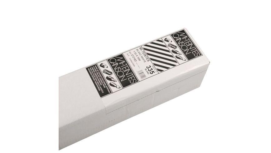 Canson Mi-Teintes 160 GSM 152 x 1000 cm Honeycomb & Fine Grain Roll - White
