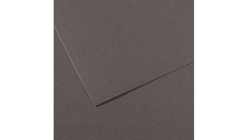 Canson Mi-Teintes 160 GSM 55 x 75 cm Pack of 25 Honeycomb & Fine Grain Sheets - Dark Grey