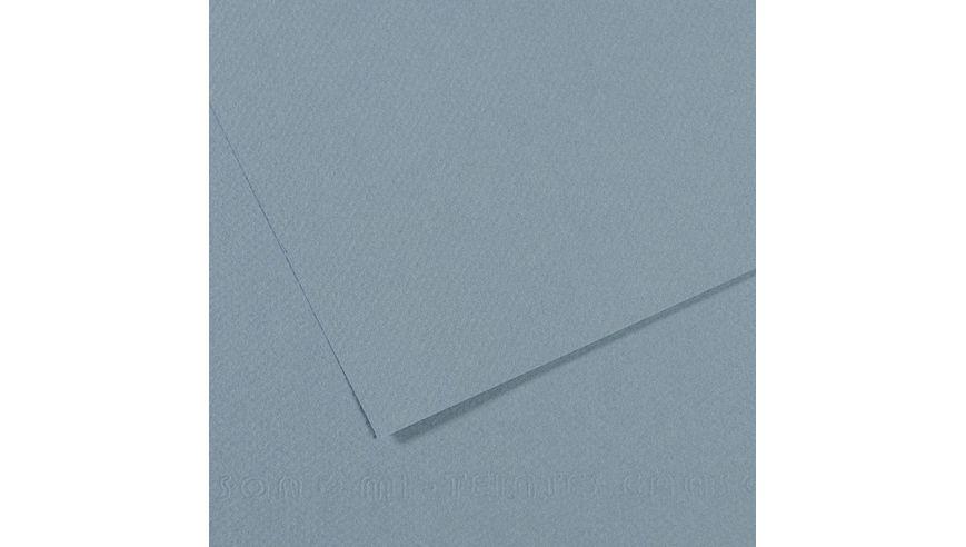 Canson Mi-Teintes 160 GSM 55 x 75 cm Pack of 25 Honeycomb & Fine Grain Sheets - Light Blue