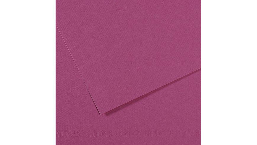 Canson Mi-Teintes 160 GSM 55 x 75 cm Pack of 25 Honeycomb & Fine Grain Sheets - Violet