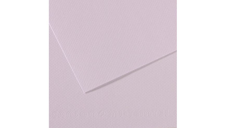 Canson Mi-Teintes 160 GSM 55 x 75 cm Pack of 25 Honeycomb & Fine Grain Sheets - Lilac
