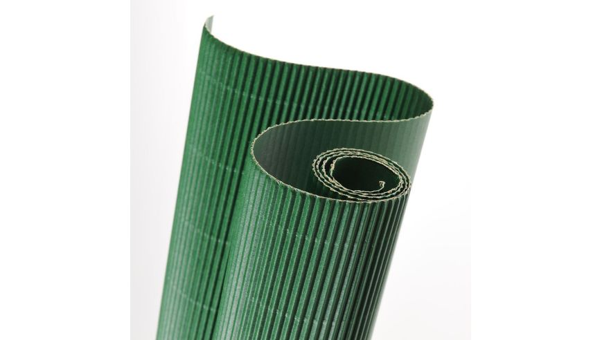 Canson Corrugated Cardboard Paper Roll - 300 GSM, 50 x 70 cm  - Bottle Green