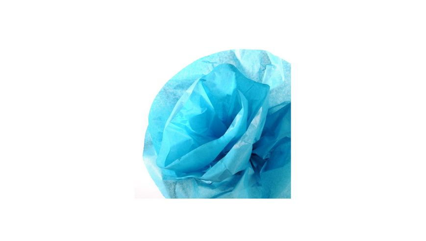 Canson Silk / Tissue Paper Roll - 20 GSM, 50 x 500 cm  - Turquoise Blue