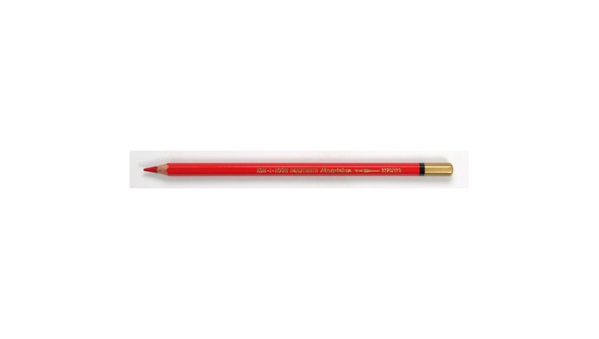 Koh-I-Noor Mondeluz Artist's Water Soluble Coloured Pencil - Pyrrole Red