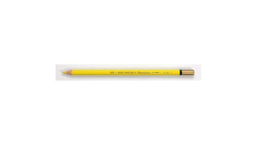 Koh-I-Noor Mondeluz Artist's Water Soluble Coloured Pencil - Lemon Yellow