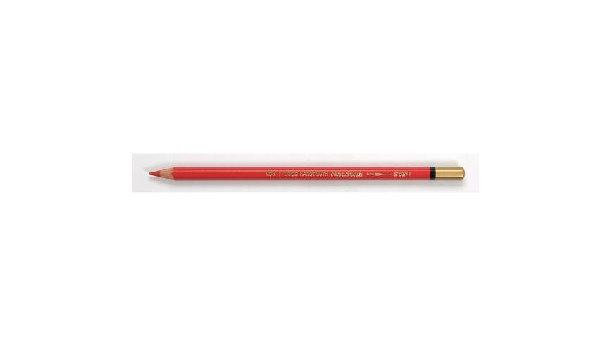 Koh-I-Noor Mondeluz Artist's Water Soluble Coloured Pencil - Scarlet Red