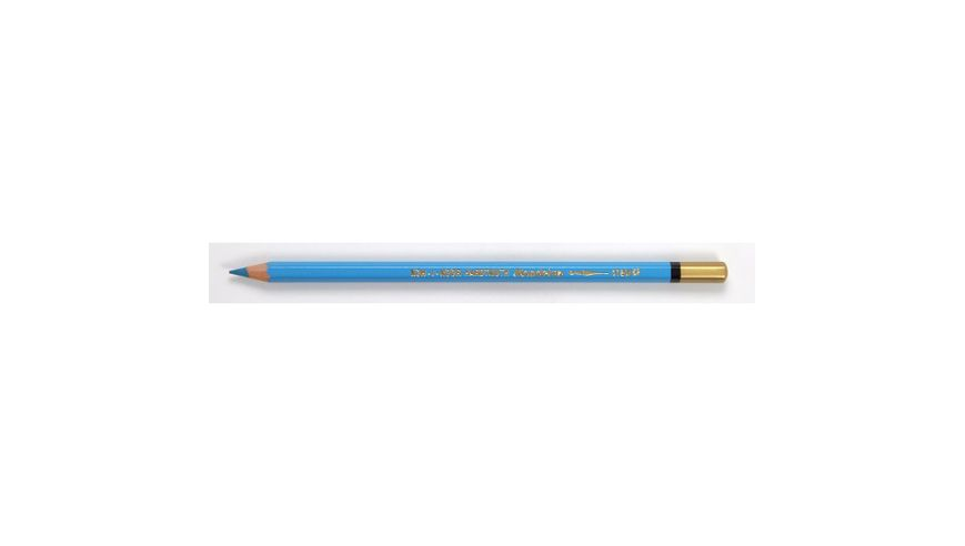 Koh-I-Noor Mondeluz Artist's Water Soluble Coloured Pencil - Azure Blue