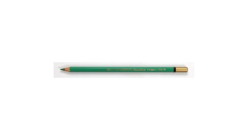 Koh-I-Noor Mondeluz Artist's Water Soluble Coloured Pencil - Grass Green