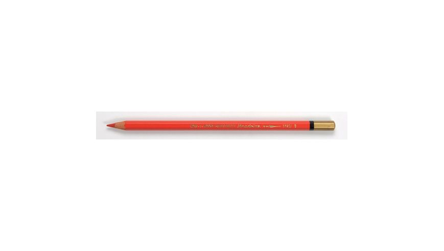 Koh-I-Noor Mondeluz Artist's Water Soluble Coloured Pencil - Vermilion Red