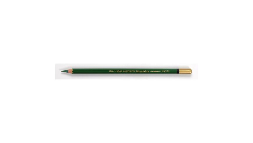 Koh-I-Noor Mondeluz Artist's Water Soluble Coloured Pencil - Emerald Green