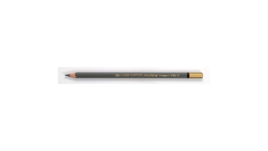 Koh-I-Noor Mondeluz Artist's Water Soluble Coloured Pencil - Medium Grey