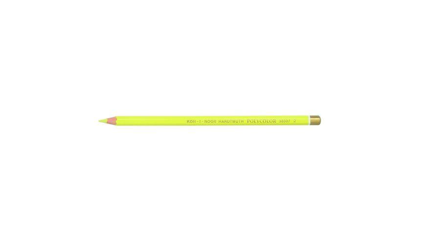 Koh-I-Noor Polycolor Artist's Coloured Pencil - Lemon Yellow
