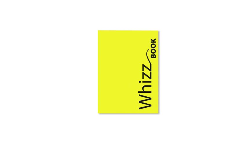 Canson Whizz Book 80 GSM A5 Art Book of 136 Fine Grain Sheets - Yellow Cover