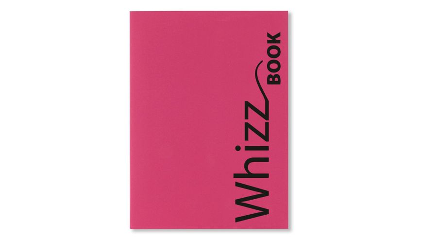 Canson Whizz Book 80 GSM A4 Art Book of 136 Fine Grain Sheets - Pink Cover