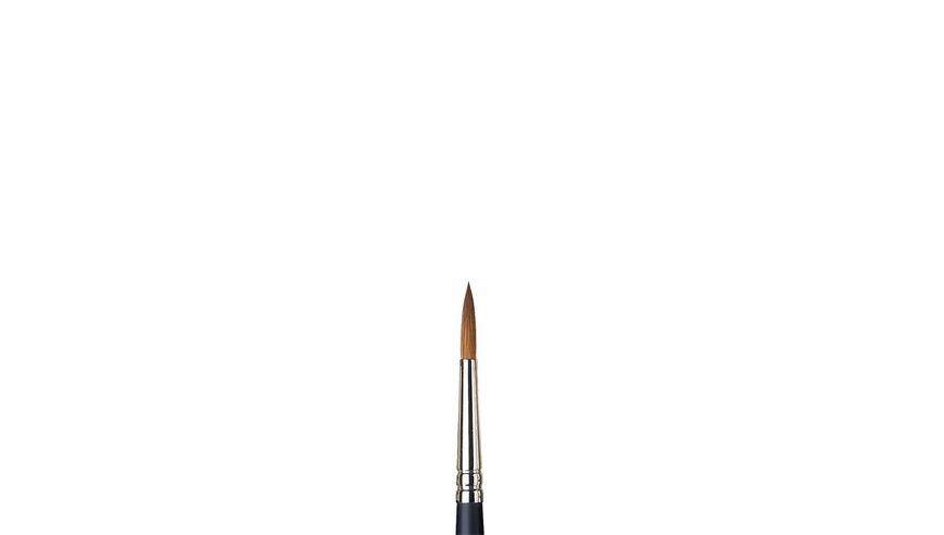 Winsor & Newton Artist's Water Colour Kolinsky Sable Hair Brush - Round - Short Handle - Size: 6