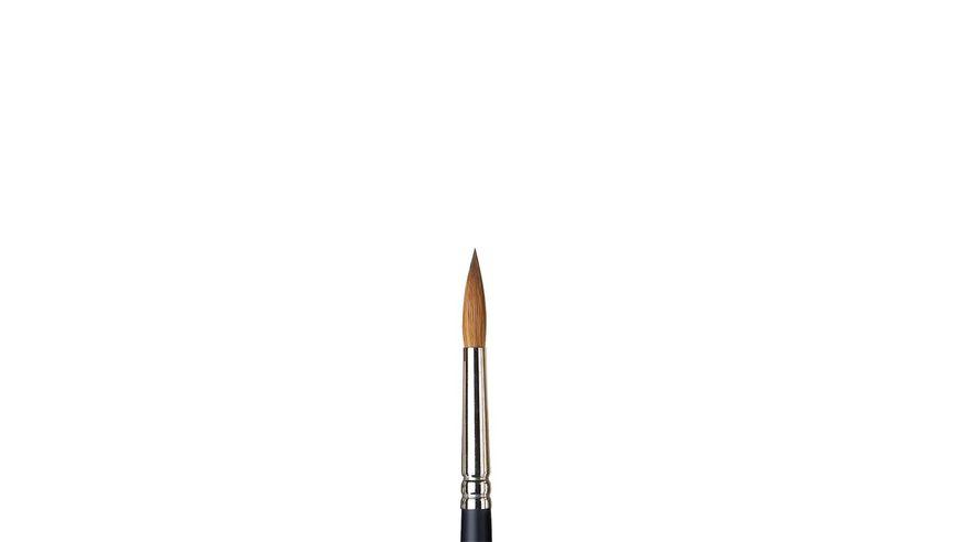 Winsor & Newton Artist's Water Colour Kolinsky Sable Hair Brush - Round - Short Handle - Size: 8