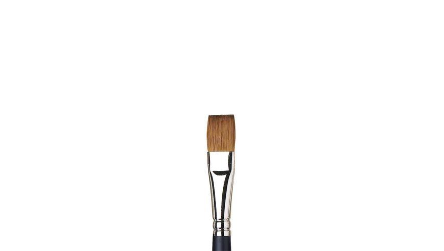 Winsor & Newton Artist's Water Colour Kolinsky Sable Hair Brush - One Stroke - Short Handle - Size: 1/2