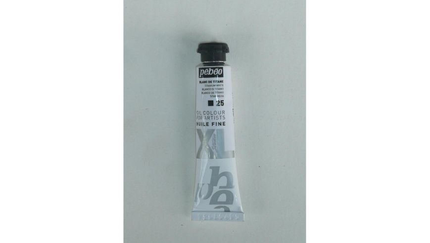 Pebeo XL Fine Oil 20 ML Titanium White 25