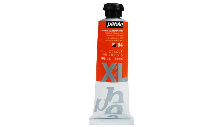 Pebeo XL Fine Oil 37 ML Cadmium Orange Hue 04