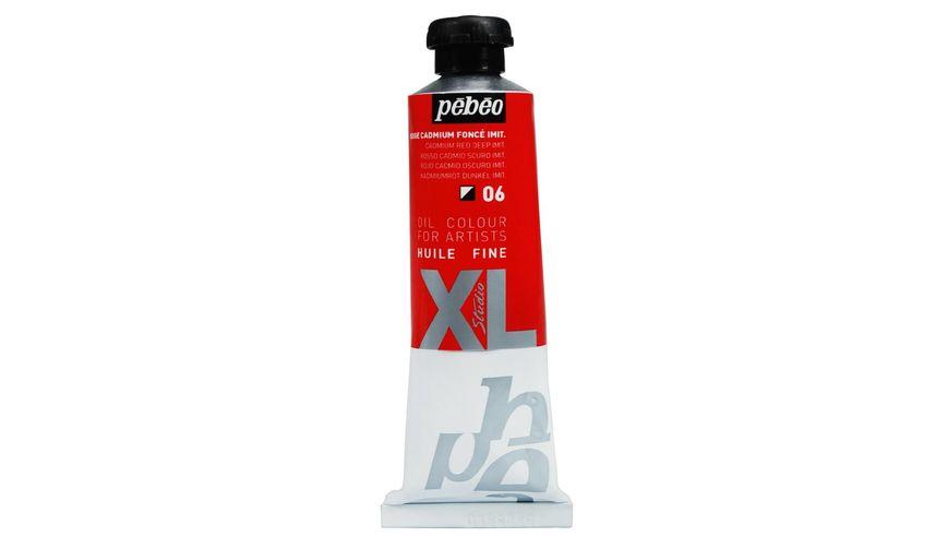 Pebeo XL Fine Oil 37 ML Cadmium Red Deep Hue 06