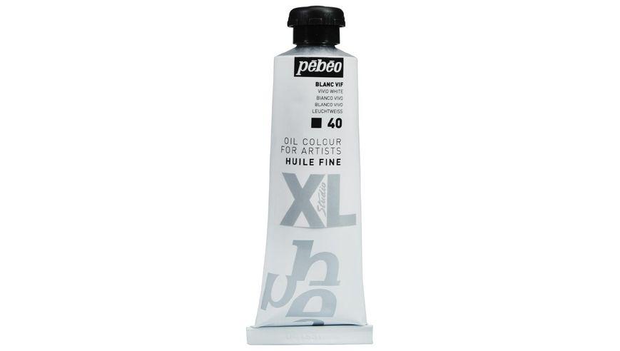 Pebeo XL Fine Oil 37 ML Vivid White 40