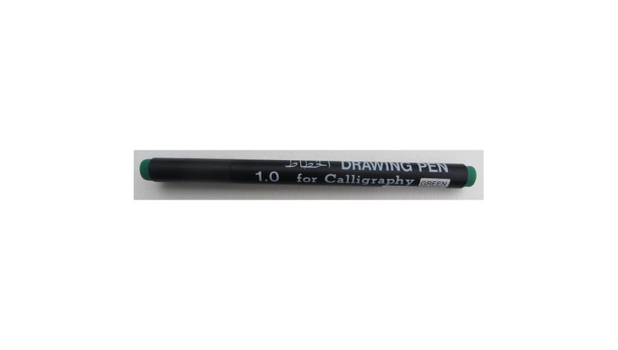 Snowman Calligraphy Pens - Green - 1.0
