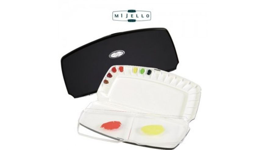 Mijello - Watercolour Palettes - Fusion Leakproof/Airtight 20 Wells