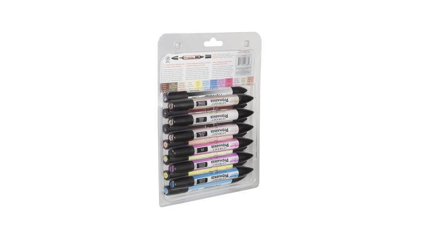 Letraset ProMarkers 12 Set 2 of Base Colours + 1 Blender