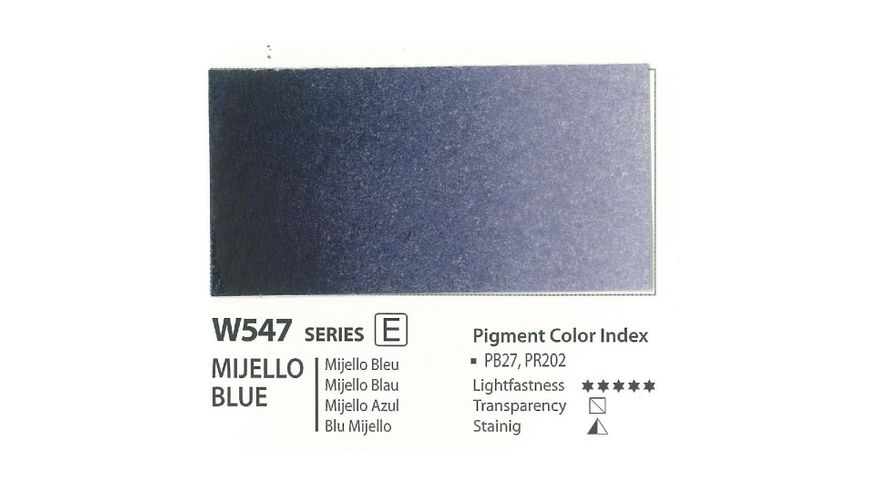 Mission Gold Professional Grade Extra-Fine Watercolour  - 15 ML - Mijello Blue