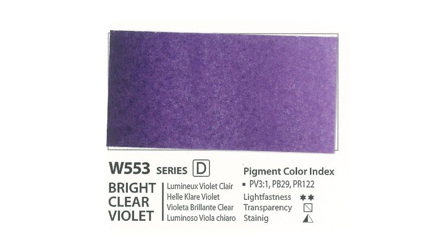 Mission Gold Professional Grade Extra-Fine Watercolour  - 15 ML - Bright Clear Violet