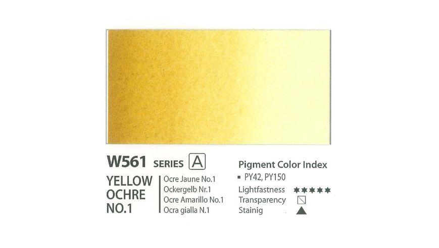 Mission Gold Professional Grade Extra-Fine Watercolour  - 15 ML - Yellow Ochre No.1