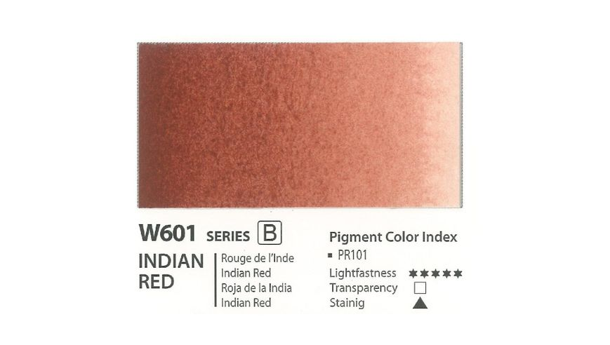 Mission Gold Professional Grade Extra-Fine Watercolour  - 15 ML - Indian Red