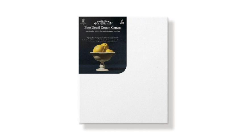 Winsor & Newton Fine Detail Stretched Cotton Canvas - 50 X 70 CM