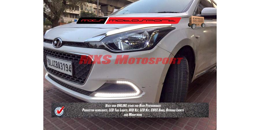 MXS2297 LED Fog Lamps Day Time running Light Hyundai i20 Elite