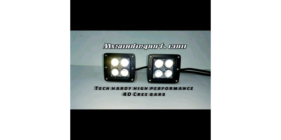 MXSORL33 High Performance 4D CREE LED Light Bar Car and Bike and SUV (Pair)