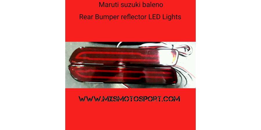 MXSTL74 Rear Bumper LED Reflector DRL Light Maruti Suzuki Baleno