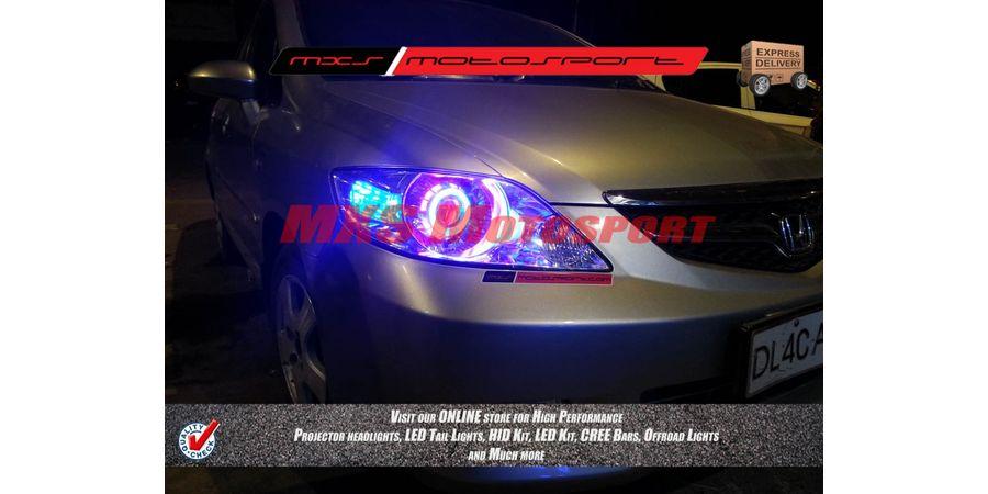 MXSHL166 Robotic Eye Projector Headlight Honda City