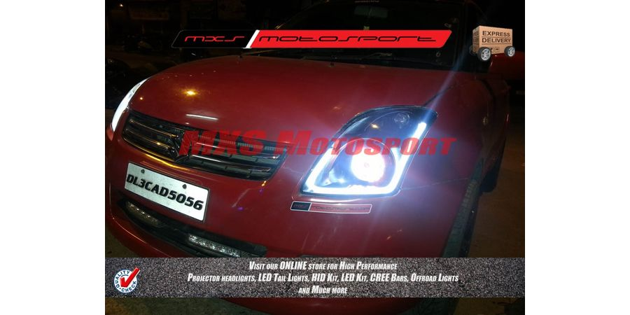 MXSHL169 Projector Headlight Maruti Suzuki Swift old version