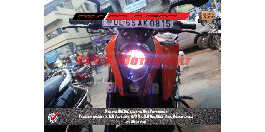 MXSHL186 Robotic Eye Projector Headlight KTM Duke 390 & 200