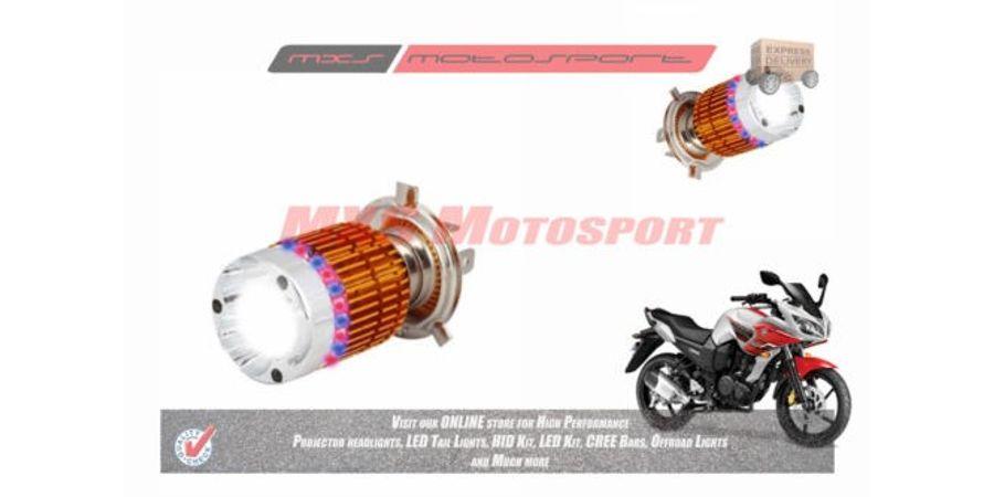 MXS2191 White 3CREE LED HID Type Headlamp Bulb For Yamaha Fazer Pair