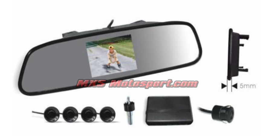 MXS2362 4.3 Rearview Parking System Car Reversing Mirror Kit