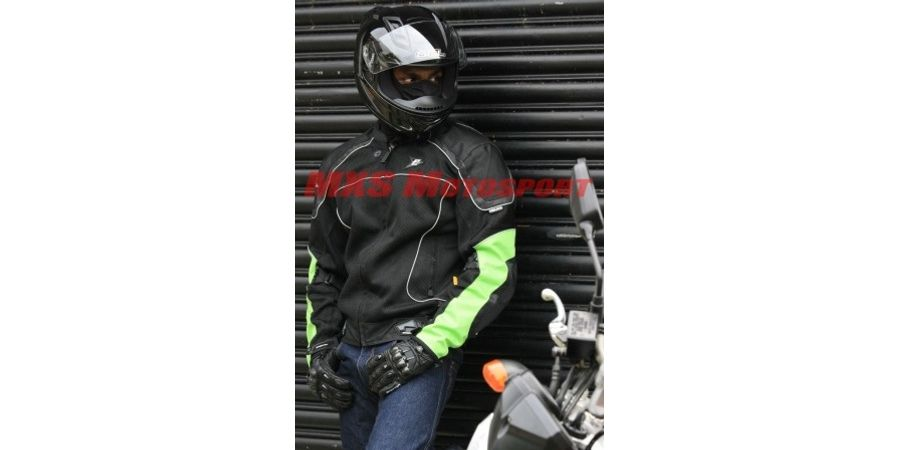 MXS1979 ASPIDA Helios Classic Mesh Jacket Green
