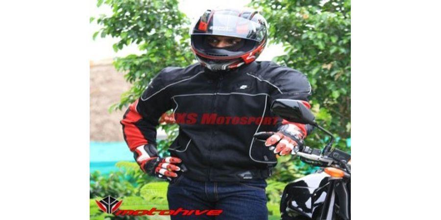 MXS1982 ASPIDA Helios Classic Mesh Jacket Red By MXS Motosport