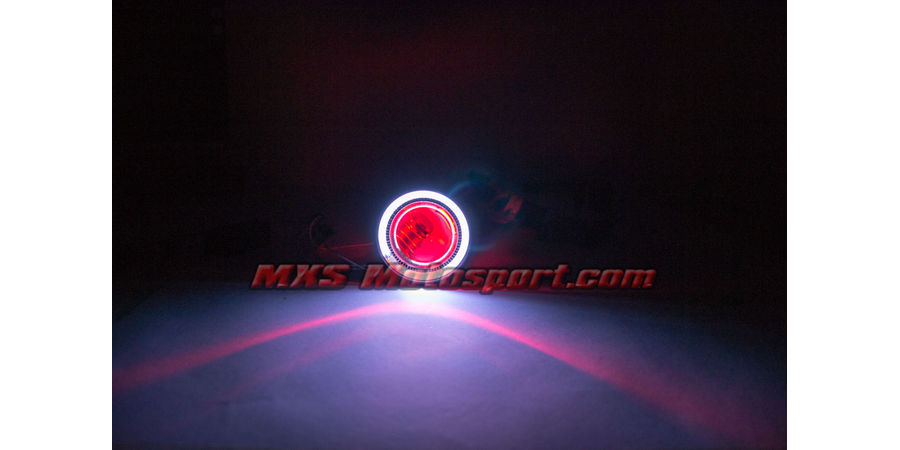 MXS2402 Motorcycle HID BI-XENON Projector blaster Round Square Angel Eye