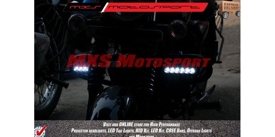MXSORL05 MXS Motosport High Performance Cree LED Flood Lamp Fog Lamp Bajaj Avenger (Pair)