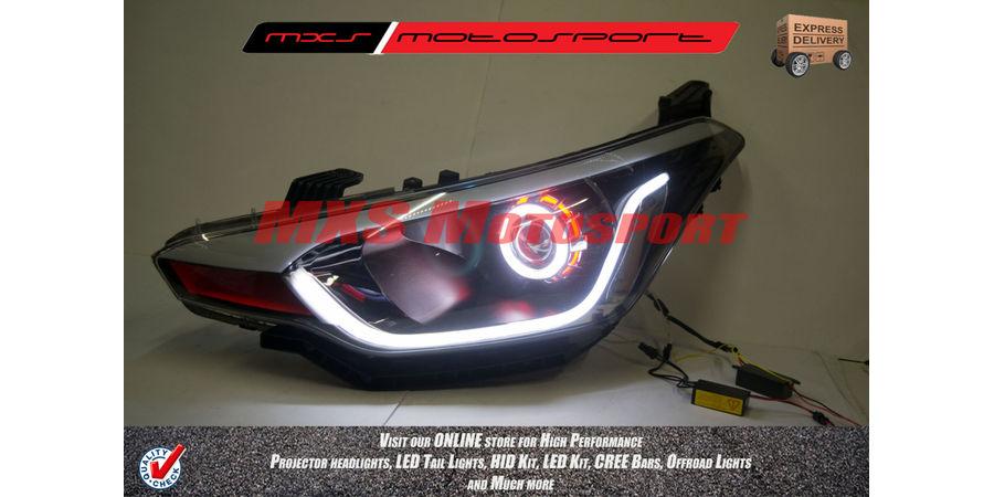 MXSHL218 Projector Headlights Hyundai i20 Elite