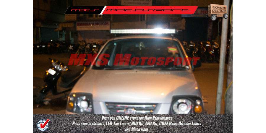 MXS2234 High Performance LED Cree Bar '42' Hyundai Santro