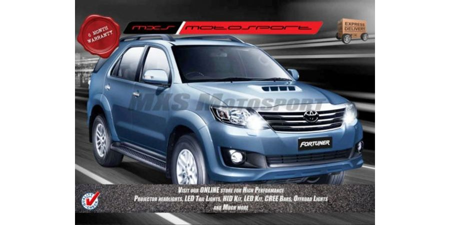 MXS Motosport Toyota Fortuner Fog Lamp XENON HID KIT with 6 Months* Warranty