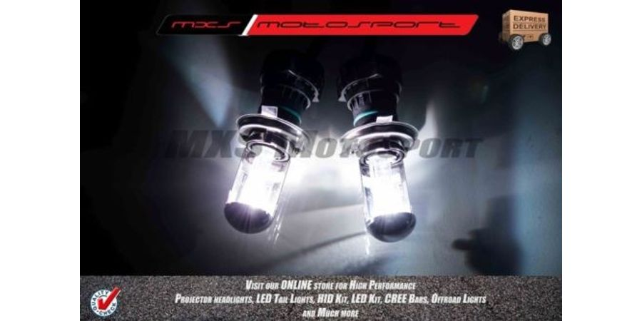 MXS-High END HID Kit With True Ac Turbo Ballast Stage 1 For Renault Pulse