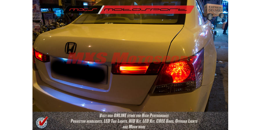 MXSTL53 LED Bar Tube Tail Lights Honda Accord